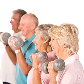 Over 55s exercise program Joondalup